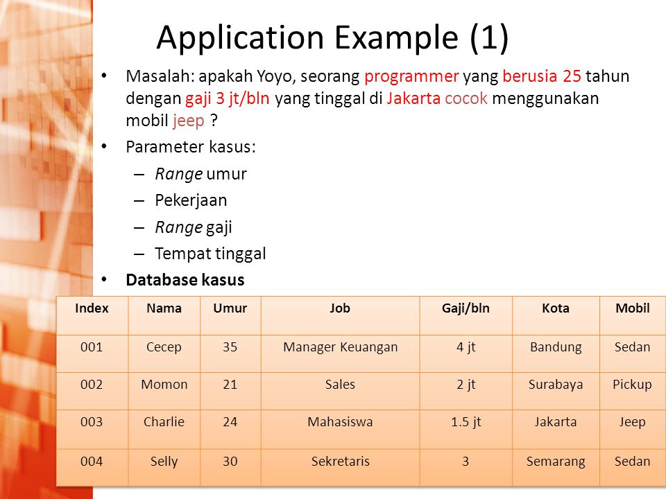 Application Example (1)
