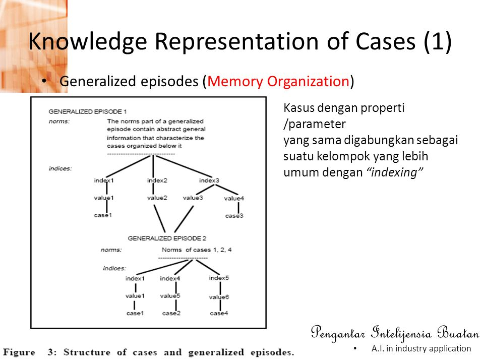 Knowledge Representation of Cases (1)