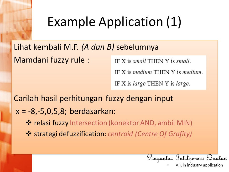 Example Application (1)