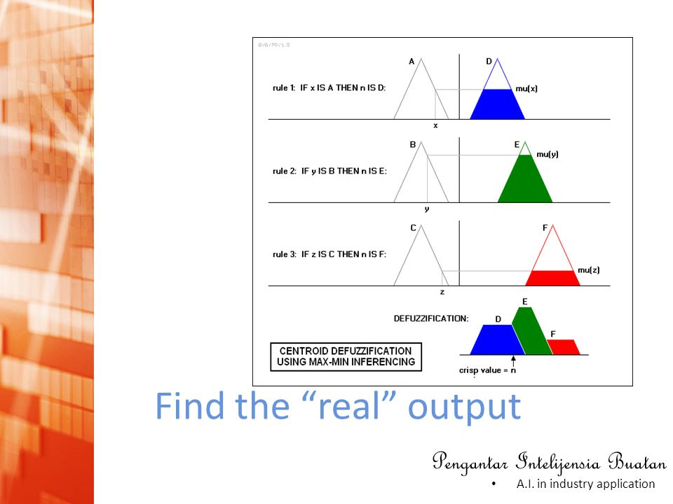 Find the real output