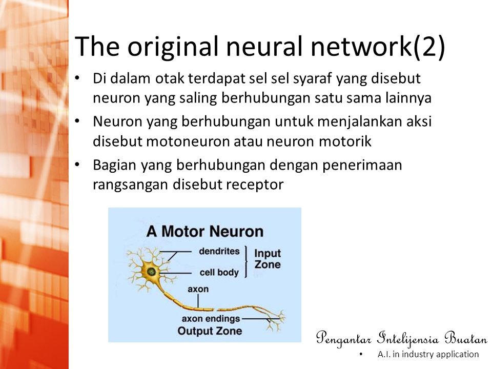 The original neural network(2)