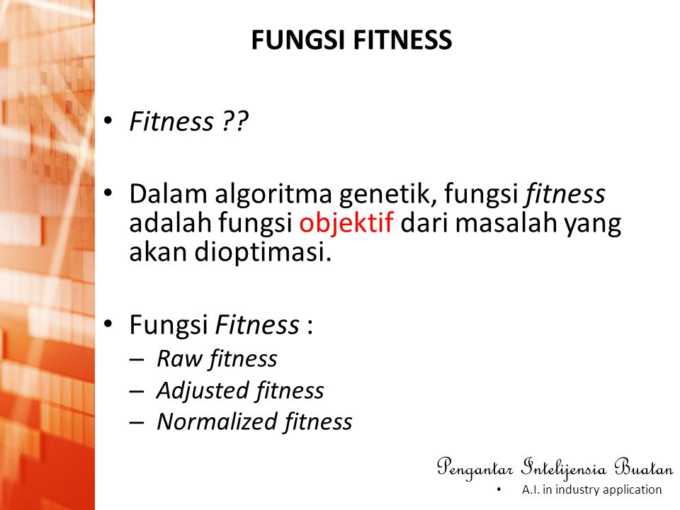 FUNGSI FITNESS Fitness
