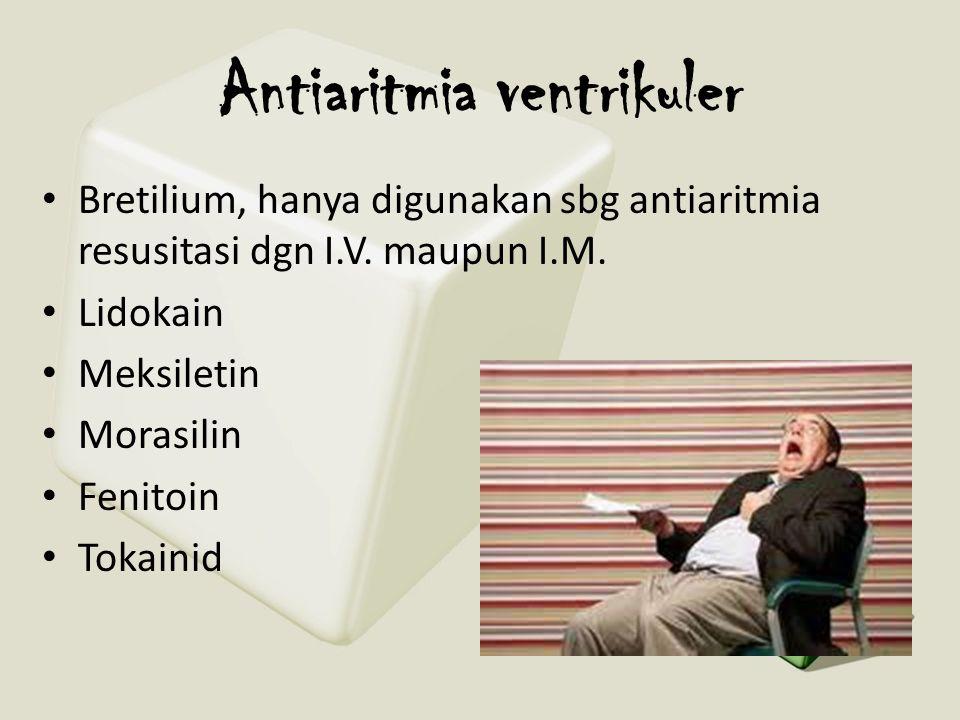 Antiaritmia ventrikuler