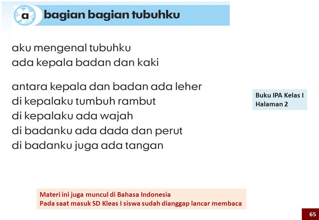 Materi ini juga muncul di Bahasa Indonesia