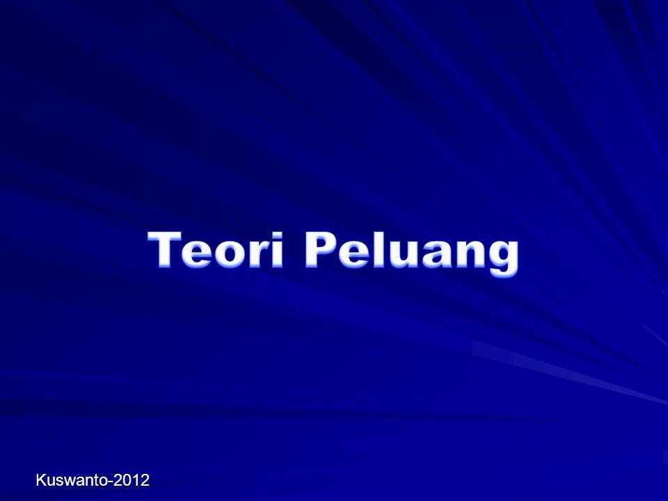 Teori Peluang Kuswanto-2012