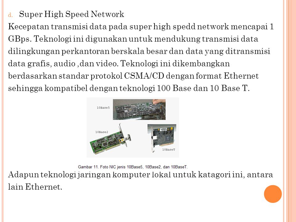 Super High Speed Network