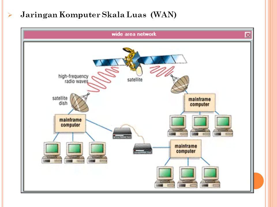 Jaringan Komputer Skala Luas (WAN)