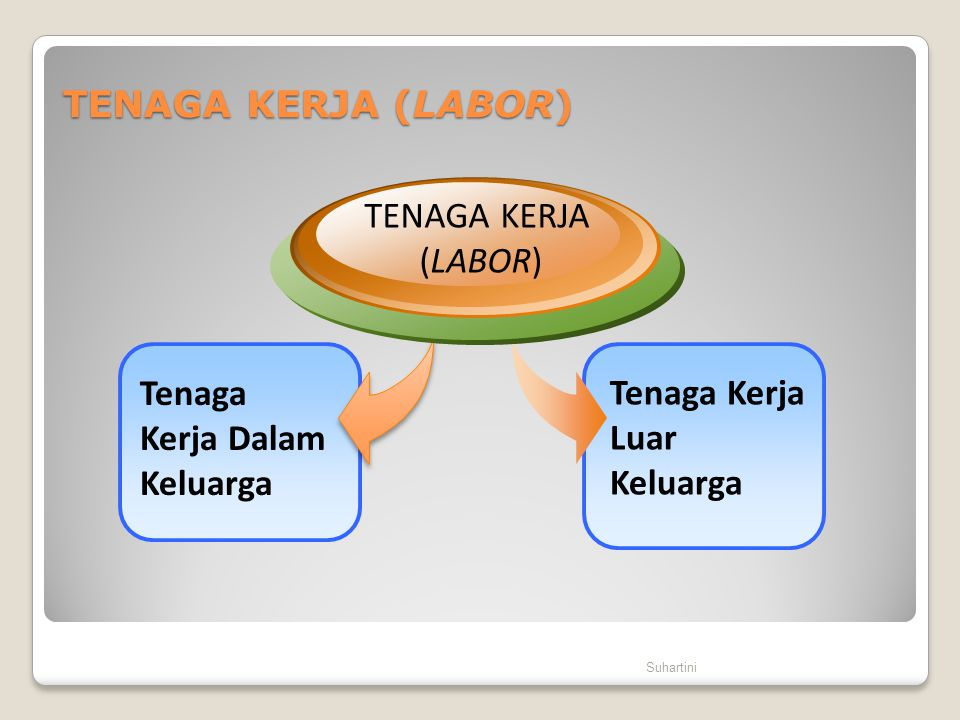 Tenaga Kerja Dalam Keluarga Tenaga Kerja Luar Keluarga