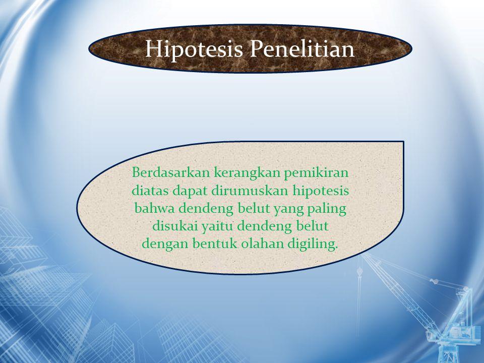 Hipotesis Penelitian