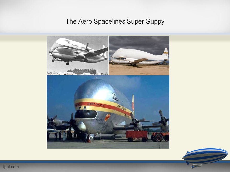 The Aero Spacelines Super Guppy