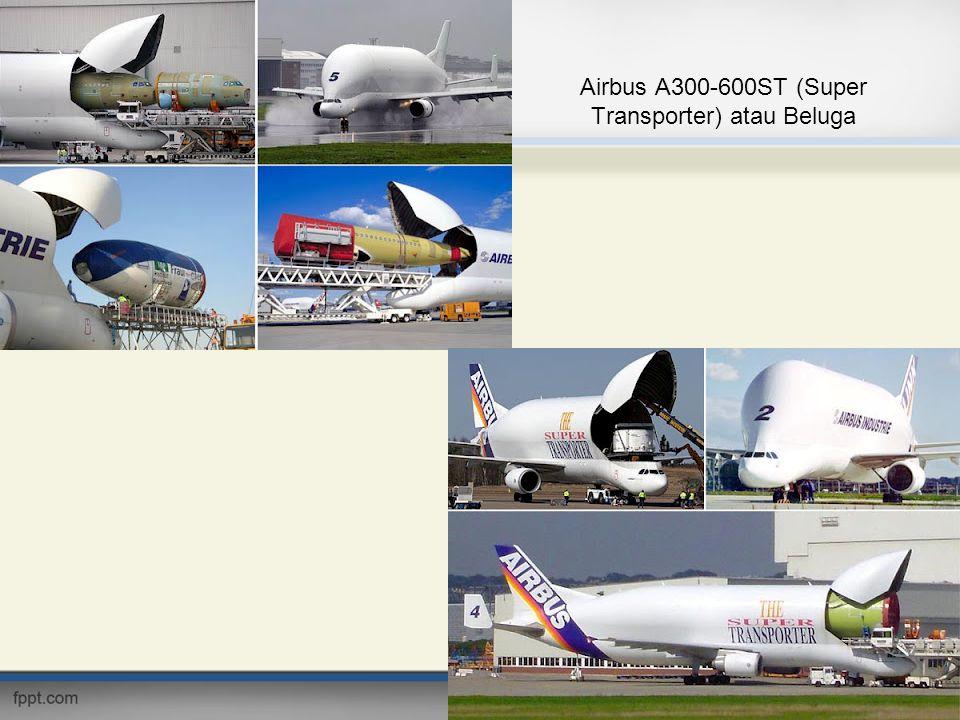 Airbus A300-600ST (Super Transporter) atau Beluga