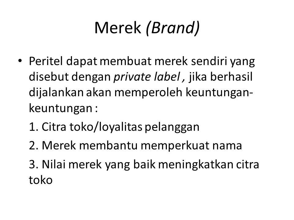 Merek (Brand)