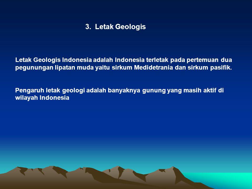 3. Letak Geologis
