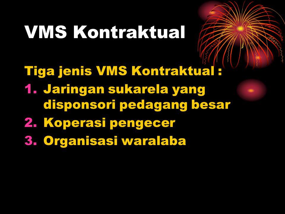 VMS Kontraktual Tiga jenis VMS Kontraktual :