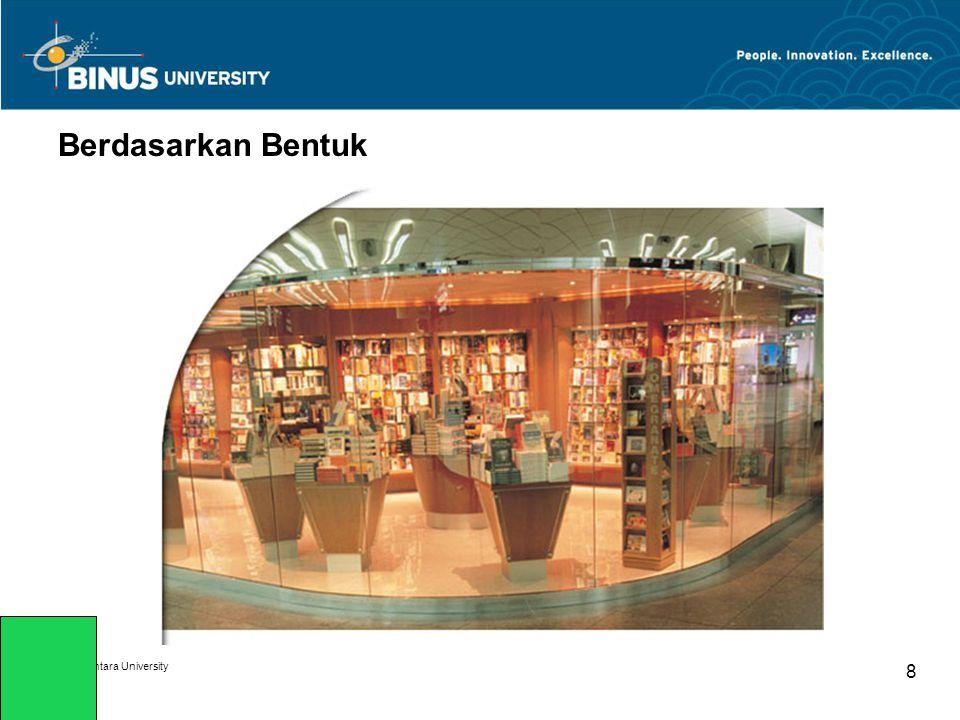 Berdasarkan Bentuk Bina Nusantara University