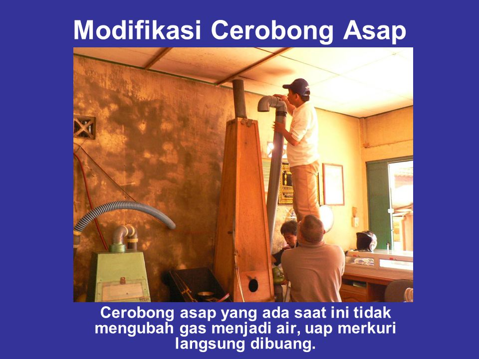 Modifikasi Cerobong Asap