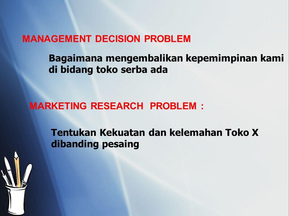 MANAGEMENT DECISION PROBLEM