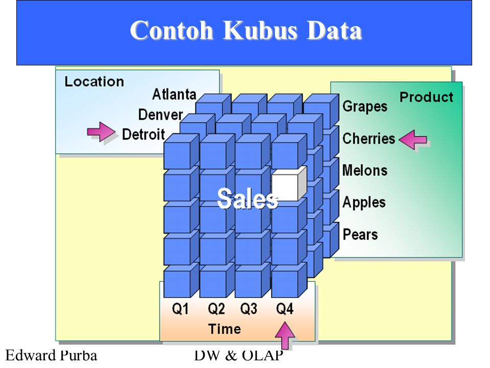 Contoh Kubus Data