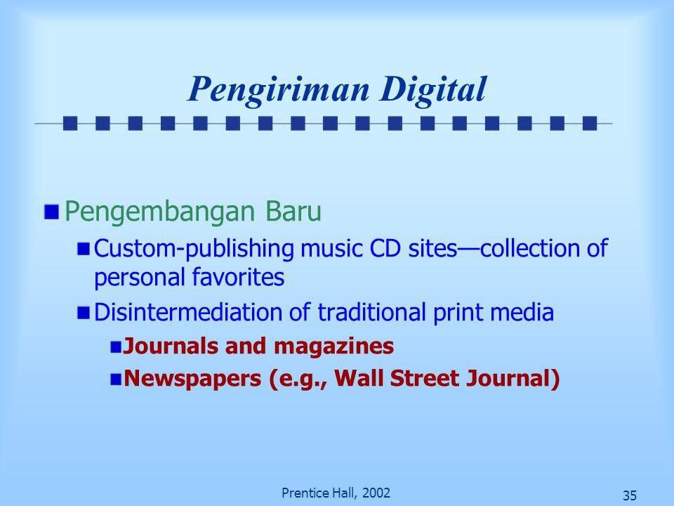 Pengiriman Digital Pengembangan Baru