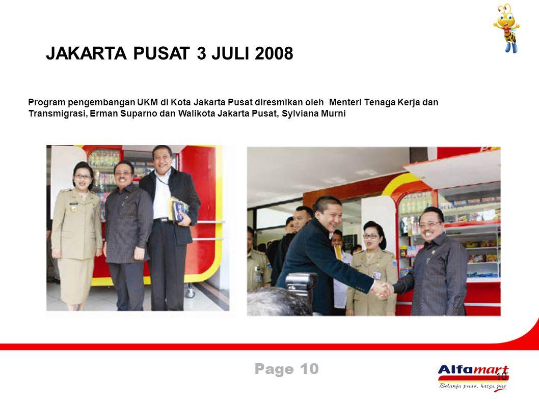 JAKARTA PUSAT 3 JULI 2008