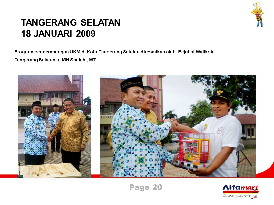 TANGERANG SELATAN 18 JANUARI 2009