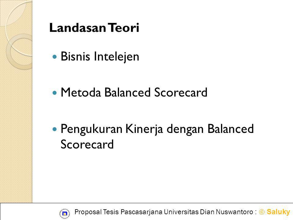 Metoda Balanced Scorecard Pengukuran Kinerja dengan Balanced Scorecard