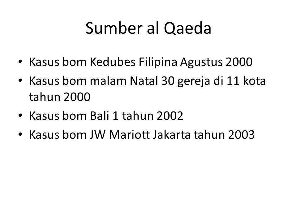 Sumber al Qaeda Kasus bom Kedubes Filipina Agustus 2000