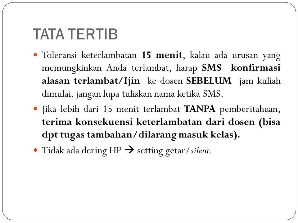 TATA TERTIB