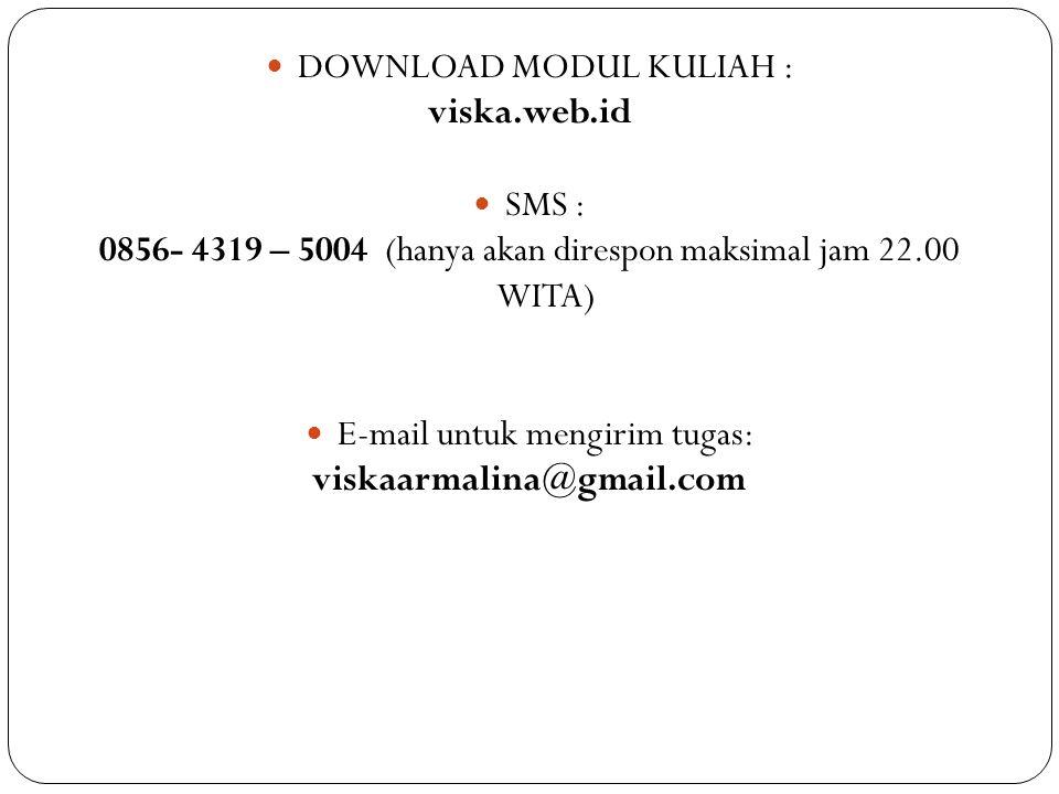 viska.web.id viskaarmalina@gmail.com