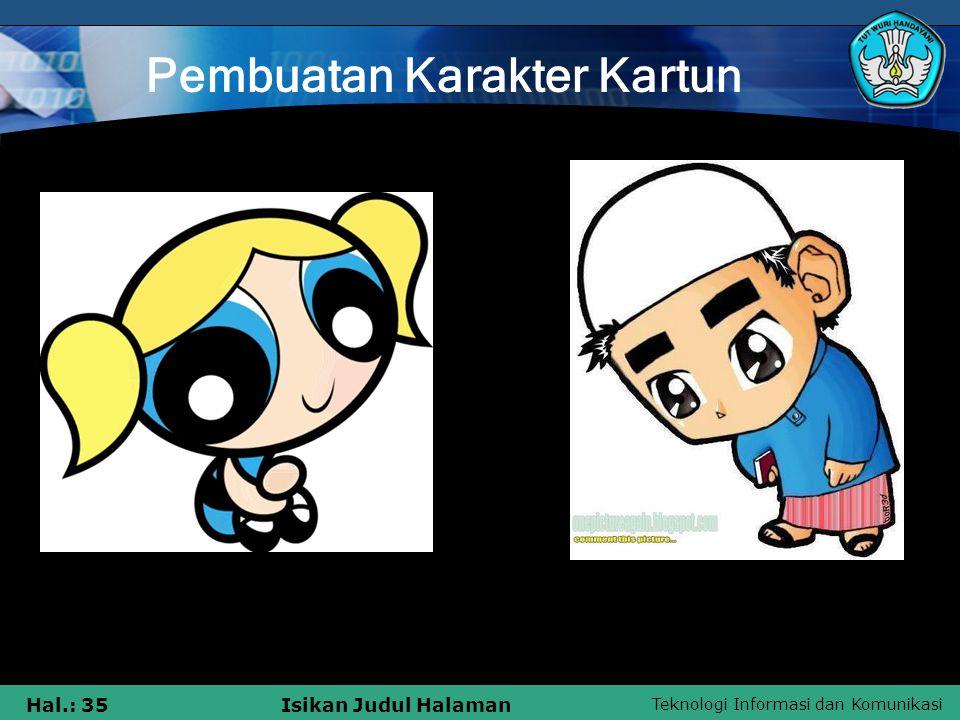 Pembuatan Karakter Kartun
