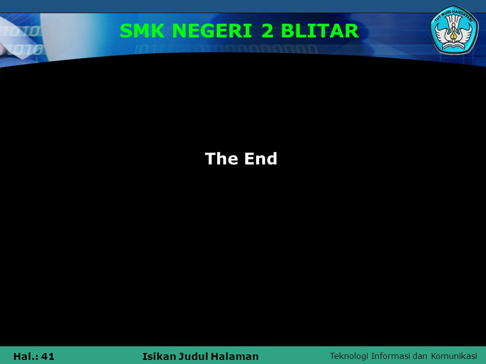 SMK NEGERI 2 BLITAR The End