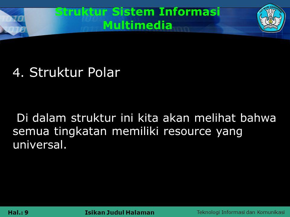 Struktur Sistem Informasi Multimedia
