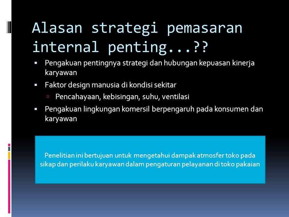 Alasan strategi pemasaran internal penting...