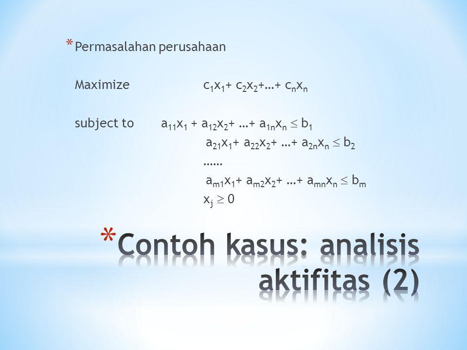 Contoh kasus: analisis aktifitas (2)