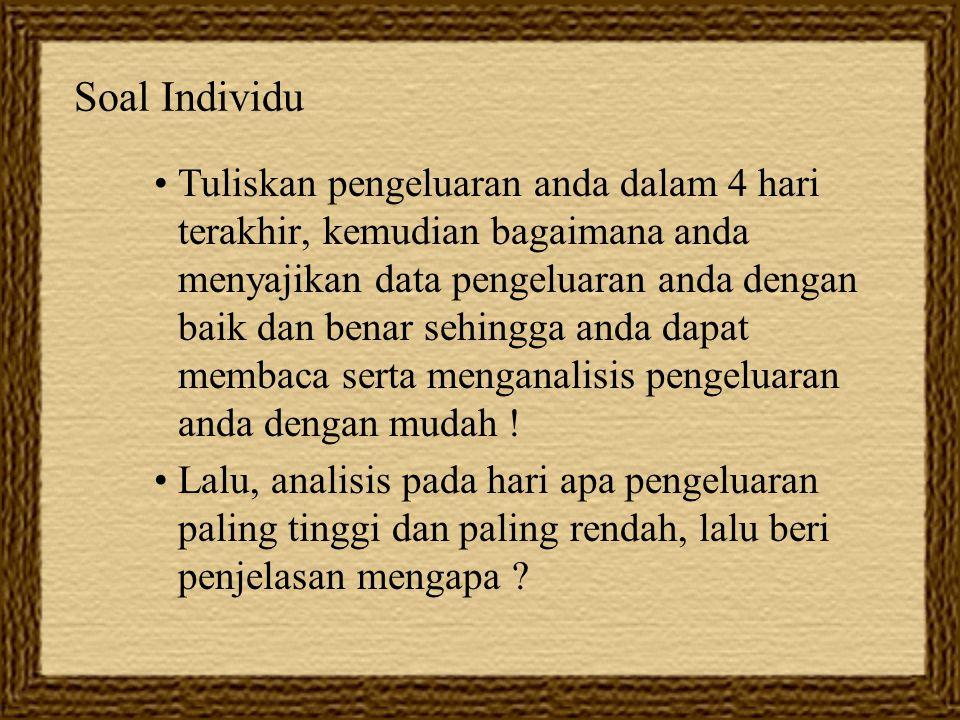 Soal Individu