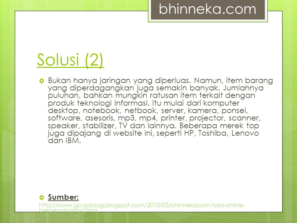 bhinneka.com Solusi (2)