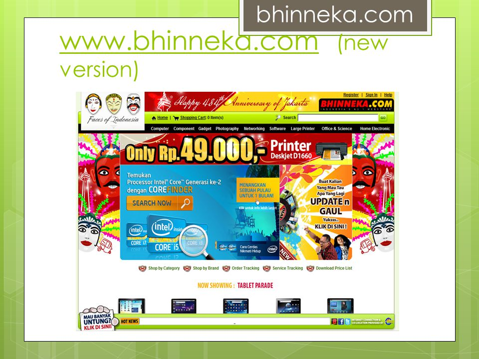 www.bhinneka.com (new version)