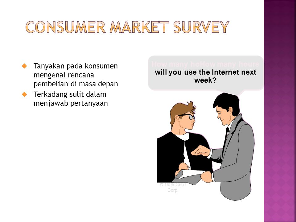Consumer Market Survey