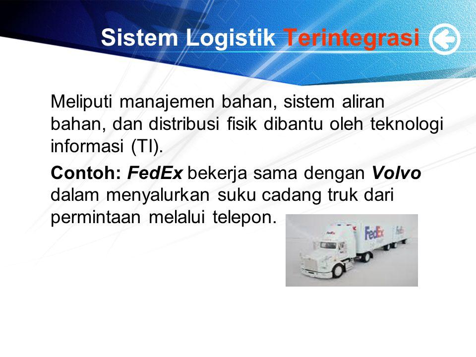 Sistem Logistik Terintegrasi