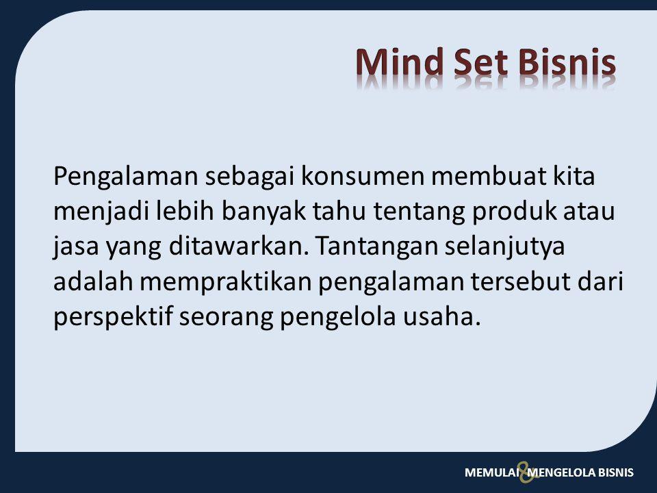Mind Set Bisnis