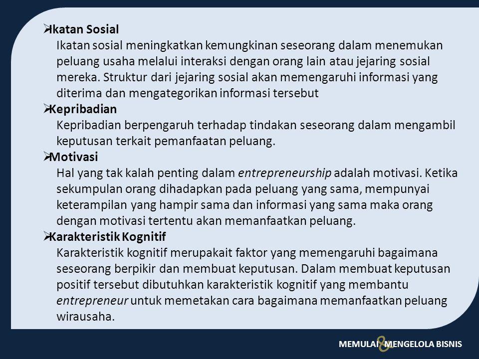 Ikatan Sosial