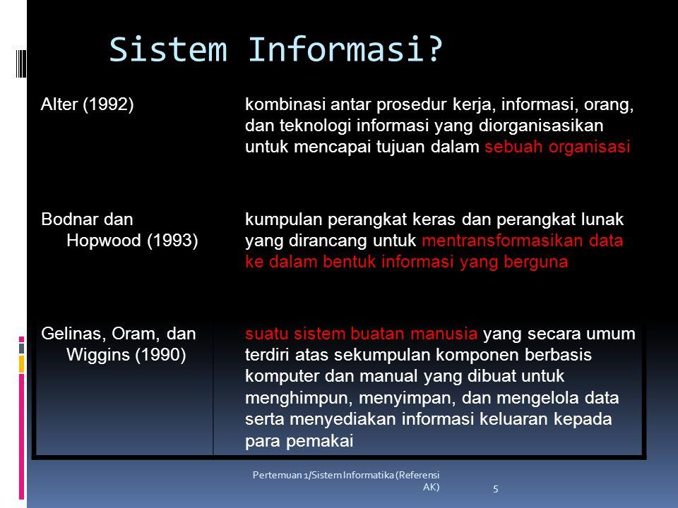 Sistem Informasi Alter (1992)