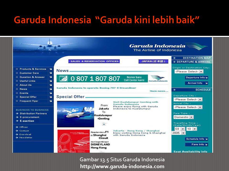 Garuda Indonesia Garuda kini lebih baik
