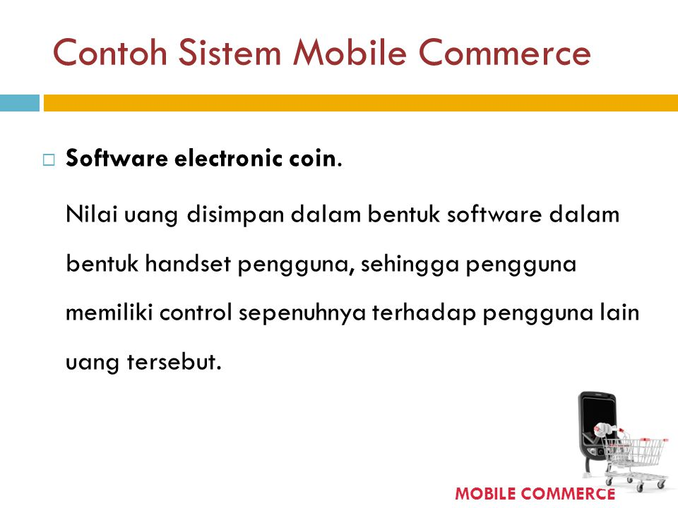 Contoh Sistem Mobile Commerce