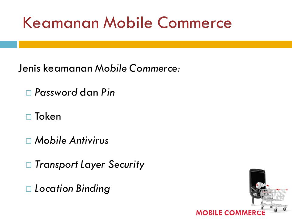 Keamanan Mobile Commerce