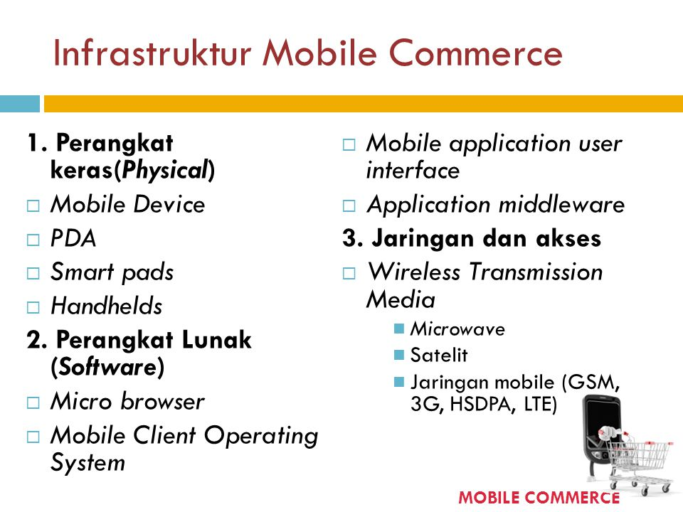 Infrastruktur Mobile Commerce