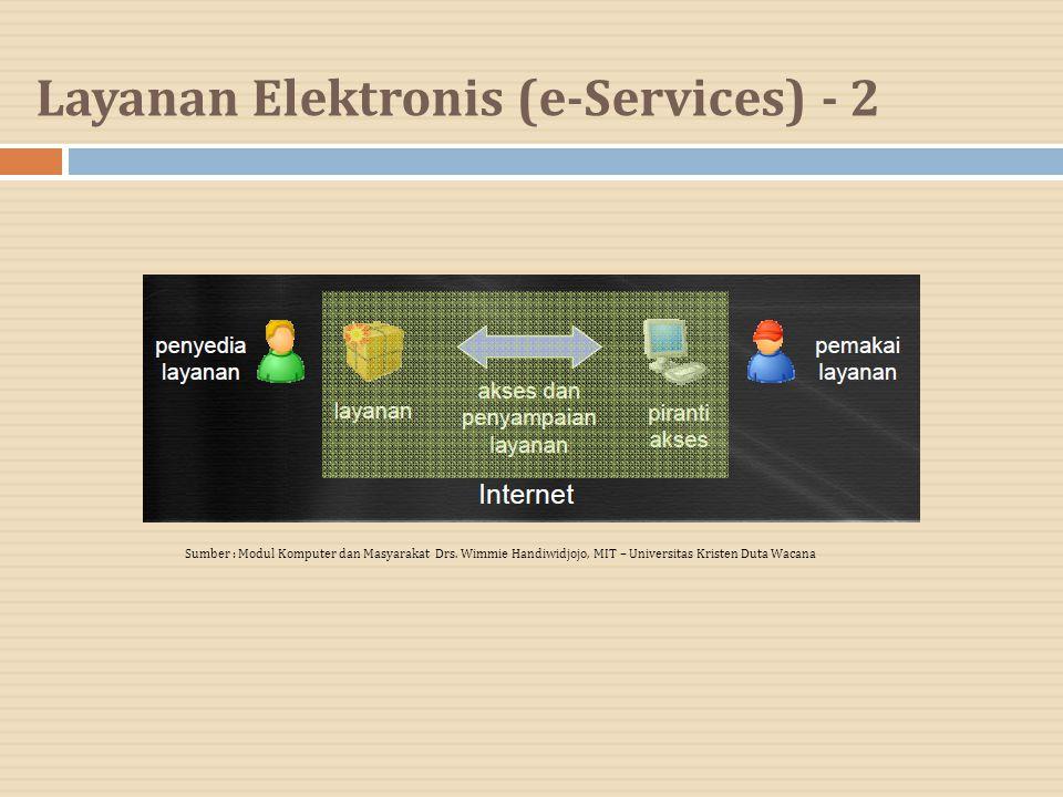 Layanan Elektronis (e-Services) - 2