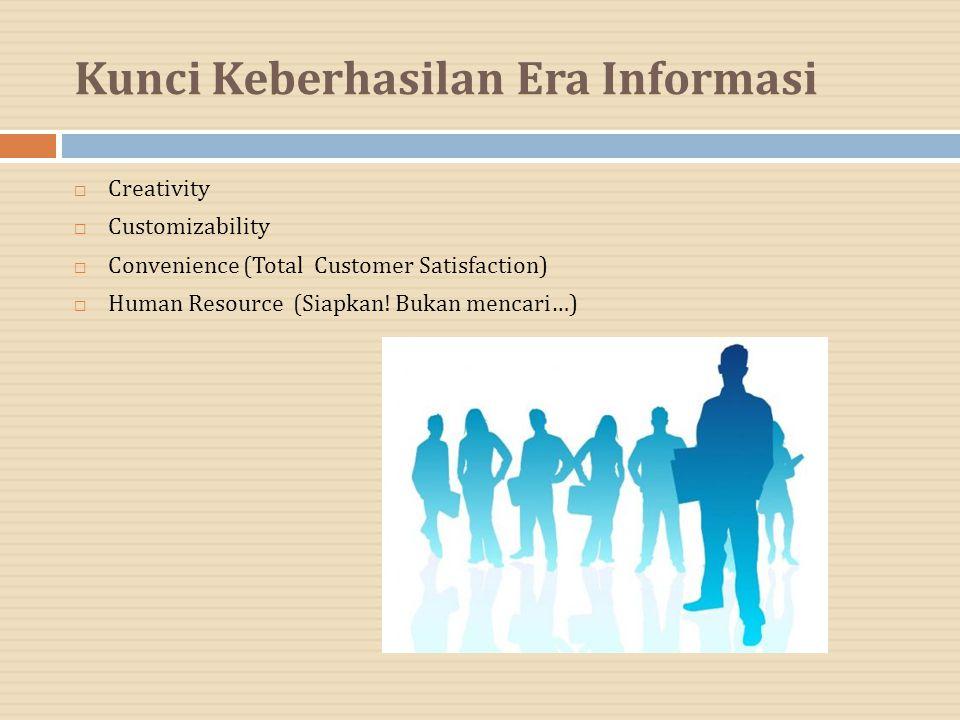 Kunci Keberhasilan Era Informasi