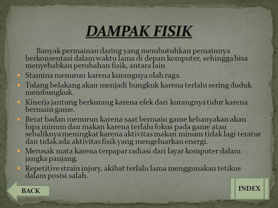 DAMPAK FISIK