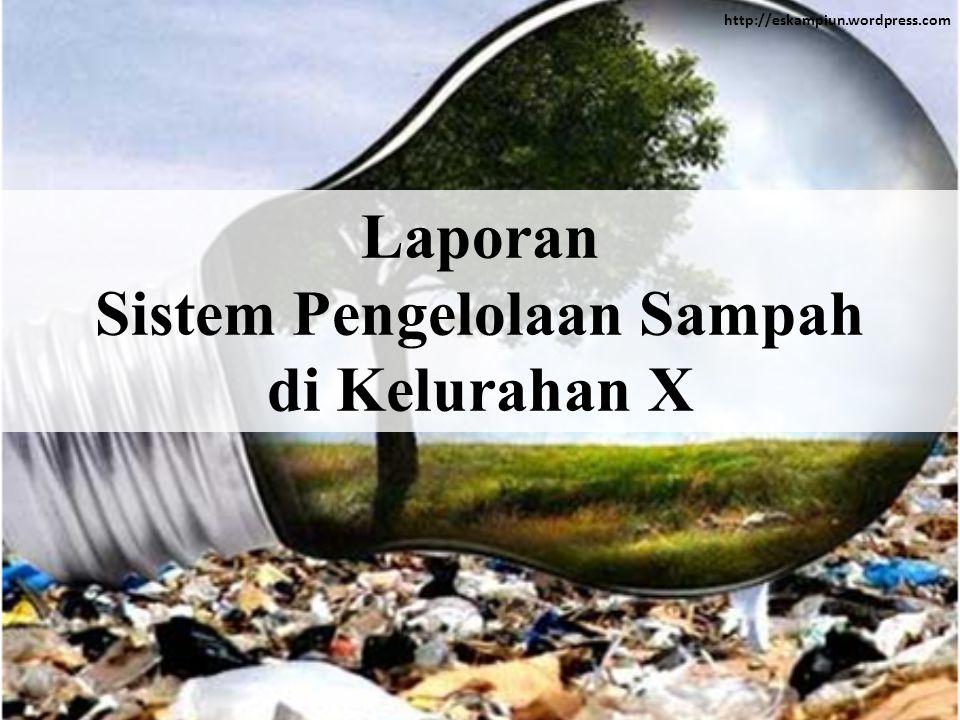 Sistem Pengelolaan Sampah